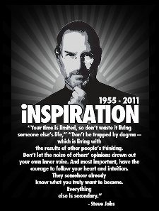 steve jobs inspiration t shirt 5 Memorable Steve Jobs T Shirts
