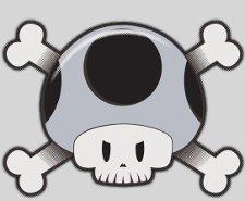 toad skull t shirt Super Mario Toad Skull T Shirt
