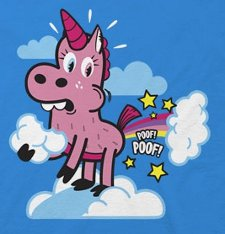 unicorn fart t shirt Ohiya The Art of Being Stinkin Cute