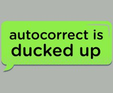 autocorrect is ducked up t shirt Autocorrect is Ducked Up T Shirt from Snorg Tees
