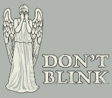 dont blink angel t shirt Doctor Who Dont Blink T Shirt from Snorg Tees