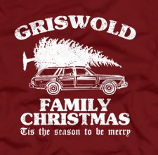 griswold family christmas t shirt National Lampoon Griswold Family Christmas Vacation T Shirt from Five Finger Tees