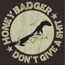 honey badger dont give a shit t shirt Honey Badger Dont Give a Shit T Shirt from Red Bubble