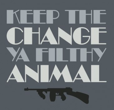 keep the change ya filthy animal t shirt Home Alone Keep The Change Ya Filthy Animal T Shirt from Busted Tees