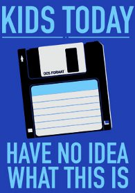kids today have no idea what this is t shirt 3.5 Floppy Kids Today Have No Idea What This Is T Shirt from Snorg Tees