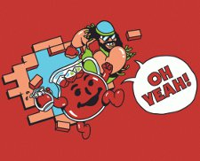 kool aid randy macho man savage t shirt Kool Aid Man Macho Man Randy Savage Oh Yeah T Shirt from Busted Tees