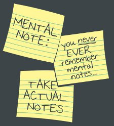 mental note take actual notes t shirt Mental Note T Shirt from Snorg Tees