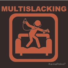 multislacking t shirt Multislacking T Shirt from Red Bubble