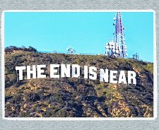 the end is near t shirt Hollywood Hills The End is Near T Shirt