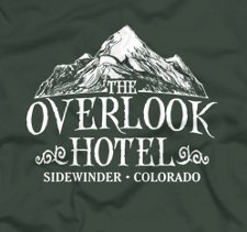 the overlook hotel t shirt The Shining The Overlook Hotel T Shirt from Five Finger Tees