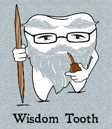 wisdom tooth t shirt Wisdom Tooth T Shirt