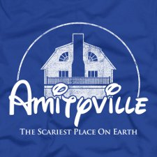 amityville the scariest place on earth t shirt Amityville The Scariest Place on Earth T shirt from Five Finger Tees