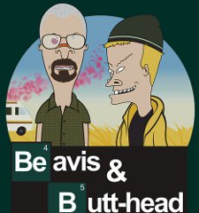 beavis butthead breaking bad t shirt Beavis and Butthead Breaking Bad T shirt from Red Bubble