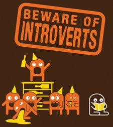 beware of introverts t shirt Beware of Introverts T Shirt from Stress Dressed