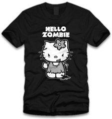 hello zombie t shirt Hello Zombie T Shirt from Five Finger Tees