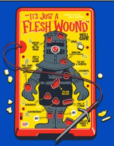 its just a flesh wound t shirt Operation Monty Python and the Holy Grail Its Just a Flesh Wound T Shirt from Tshirt Bordello