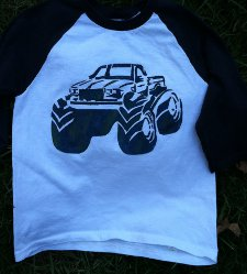 monster truck t shirt Monster Truck T Shirt from Sacer and Savive