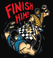 mortal kombat chess match t shirt Mortal Kombat Chess Match T Shirt from Tshirt Bordello