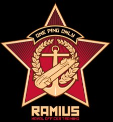 ramius naval officer training t shirt One Ping Only Ramius Naval Officer Training T Shirt from 604 Republic