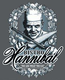 silence of the lambs bistro hannibal t shirt Silence of the Lambs Bistro Hannibal T Shirt from Tshirt Bordello