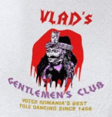 vlads gentlemens club t shirt Vlads Gentlemens Club T Shirt from Uncle Cletus
