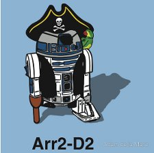 Arr2 D2 t shirt Star Wars Pirate R2 D2 Arr2 D2 T Shirt from Red Bubble