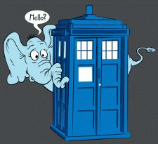 horton hears a who t shirt Dr. Seuss Dr. Who Horton Hears a Who T Shirt from Tshirt Bordello