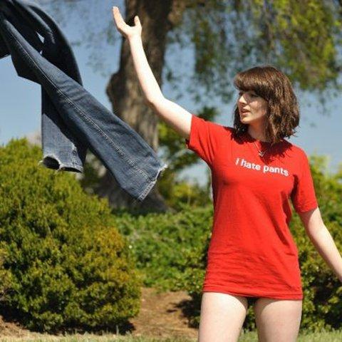 i hate pants t shirt I Hate Pants T Shirt from Rizzo Tees
