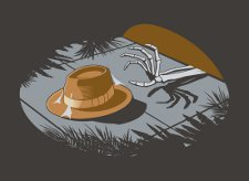 indiana jones forgot his hat t shirt Indiana Jones Forget the Hat T Shirt from Snorg Tees