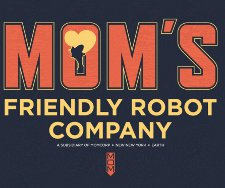 moms friendly robot company t shirt Futurama Moms Friendly Robot Company T Shirt from Busted Tees