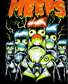 night of the meeps t shirt Night of the Meeps T Shirt from Tshirt Bordello