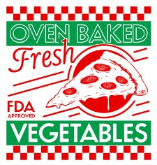 oven baked fresh fda approved vegetables t shirt Pizza is a Vegetable T Shirt from Snorg Tees