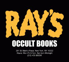 rays occult books t shirt Ghostbusters Rays Occult Books T Shirt from Busted Tees