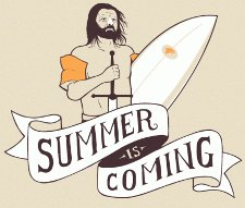 summer is coming t shirt Game of Thrones Summer is Coming T Shirt from Busted Tees