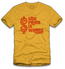 the price is wrong bitch t shirt Happy Gilmore The Price is Wrong Bitch T Shirt from Five Finger Tees