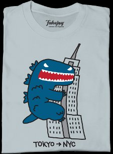 tokyo to nyc t shirt Tokyo to New York City T Shirt from Fakejoy