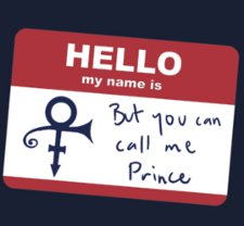 you can call me prince t shirt Hi My Name is But You Can Call Me Prince T Shirt from Red Bubble