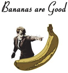 bananas are good t shirt Doctor Who Bananas Are Good T Shirt from Red Bubble