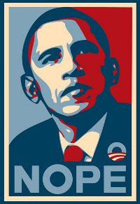 barack obama nope t shirt Barack Obama Nope T Shirt from Deez Teez
