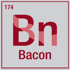 element bacon t shirt Bacon Element T Shirt from Snorg Tees
