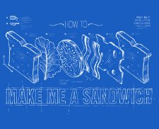 how to make me a sandwich t shirt How to Make Me a Sandwich T Shirt from Deez Teez