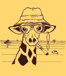 hunter s giraffe t shirt Hunter S. Giraffe T Shirt