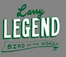 larry legend bird t shirt Larry Bird Legend T Shirt from Busted Tees