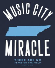 music city miracle t shirt Music City Miracle T Shirt from Busted Tees