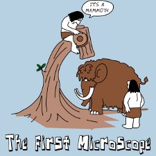 Its a mammoth the first microscope t shirt Its a Mammoth The First Microscope T Shirt from Banished Shirts