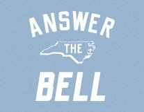 answer the bell t shirt North Carolina Tar Heels Answer the Bell T Shirt from Busted Tees