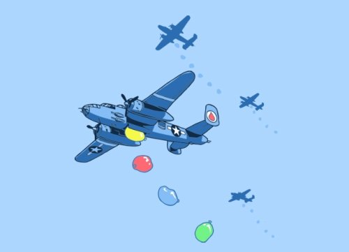 b 25 waterbombers t shirt Top 50 Funny Threadless T Shirts