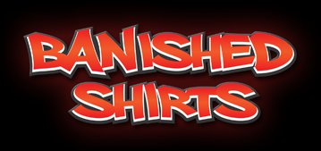 banished shirts logo Shop Review: Banished Shirts Propels You To Enlightenment