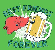 bff beer and live t shirt Best Friends Forever Beer and Liver T Shirt from Snorg Tees