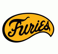 furies t shirt The Warriors Baseball Furies T Shirt from Busted Tees